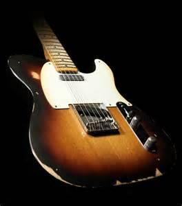 Fender Road Worn '50s Telecaster Electric Guitar 2-Tone ...