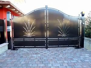 Portail 3 Metres : portail metallique 4 metres fabriquer un portail en fer ~ Premium-room.com Idées de Décoration