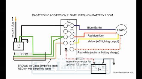 Casatronic Ignition Lambretta Wiring Diagrams English