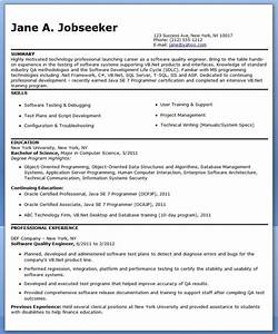 quality engineer resume template creative resume design With resume for experienced quality control engineer