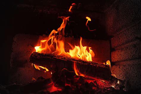 convert  gas fireplace  wood