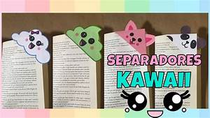 Separadores Kawaii para libros! YouTube