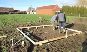 Faire Une Dalle Béton Pour Abri De Jardin : plancher abris de jardin plancher abri jardin sur ~ Dailycaller-alerts.com Idées de Décoration