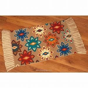 Canevas Pour Tapis : kit canevas tapis g om trie d 39 automne de vervaco canevas tapis mural 1256 6802 ~ Farleysfitness.com Idées de Décoration