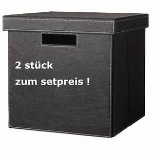 Aufbewahrungsboxen Karton Mit Deckel : cinas dk tommy 2er set aufbewahrungsboxen mit deckel zum setpreis storage box laundry box ~ Frokenaadalensverden.com Haus und Dekorationen