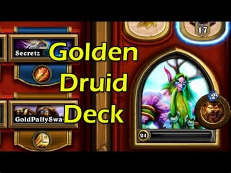 hearthstone golden druid time is of essence deck youtube