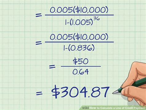 3 Ways To Calculate A Line Of Credit Payment