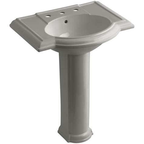 Gerber Allerton Pedestal Sink by Gerber Allerton Pedestal Combo Bathroom Sink In Bone