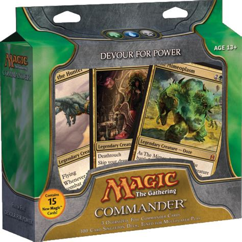 mtg sle deck 2011 devour for power deck list commander edh decks