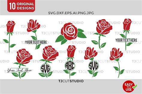 Svgcuts.com blog free svg files for cricut design space, sure cuts a lot and silhouette studio designer edition. Flower Monogram, Rose svg, Circle monogram , Rose Monogram ...