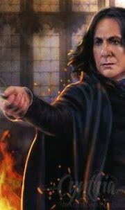 art by Cynthia Blair | Severus snape fanart, Severus snape ...