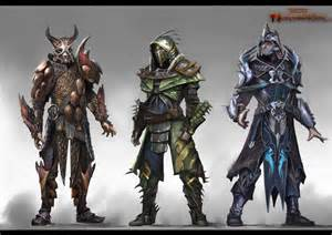 Dungeons and Dragons Armor Concept Art