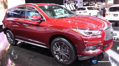 2019 Infiniti Qx60 Limited  Exterior And Interior