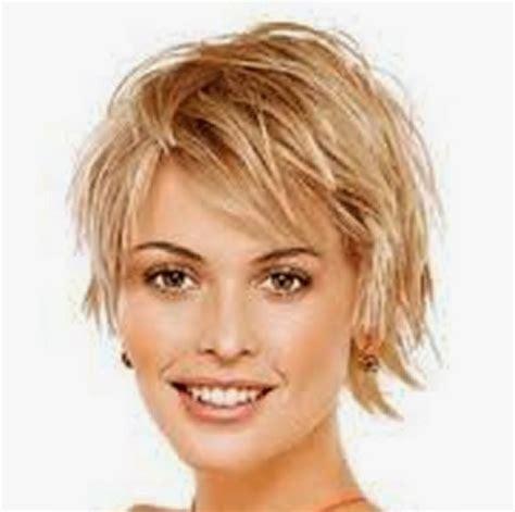 short hairstyles  fine hair   face  short