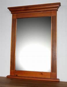 Große Spiegel Mit Rahmen : spiegel wandspiegel holzrahmen flurspiegel 60x80 cm holz ~ Michelbontemps.com Haus und Dekorationen