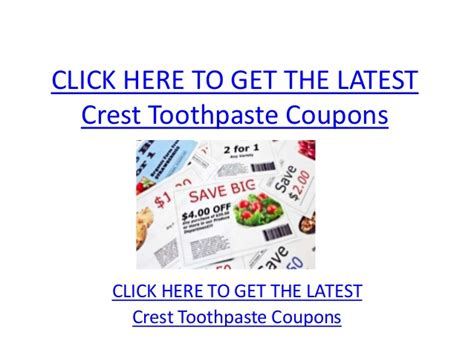 14932 Printable Coupons Crest Toothpaste by Crest Toothpaste Coupons Printable Crest Toothpaste Coupons