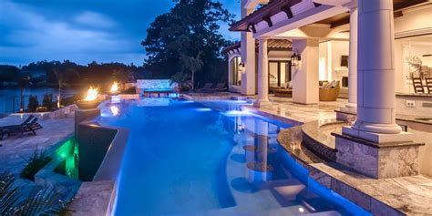 20 Amazing Inground Swimming Pool Designs, Plus Costs 2017