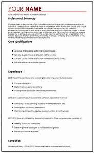 Cv Sample With Career Objectives