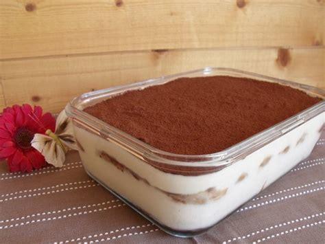 tiramisu au chocolat recette tupperware recette ptitchef