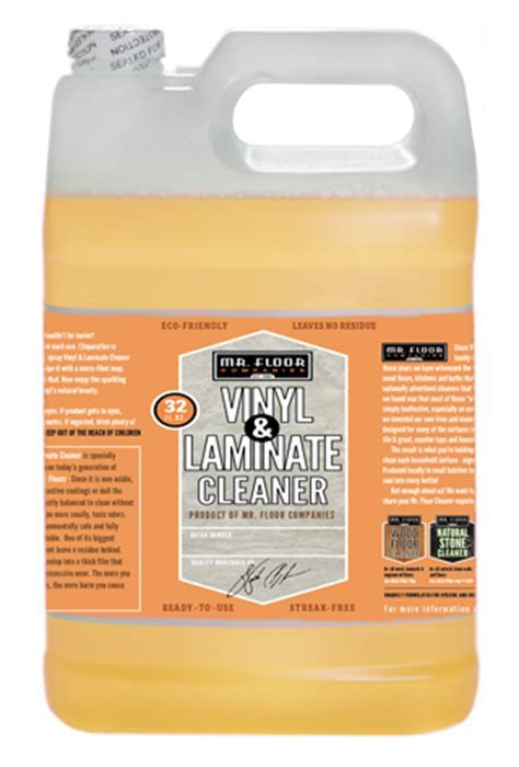 Vinyl & Laminate Cleaner   Gallon Refill