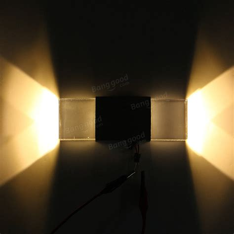 2w modern led wall light up down indoor sconce bedroom l fixture warm white sale banggood com