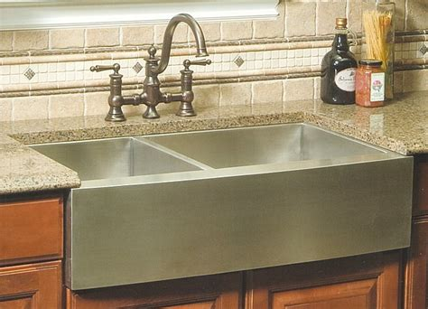 Undermount Vs Drop In Sink by 33 Inch Stainless Steel Curved Front Farm Apron 60 40