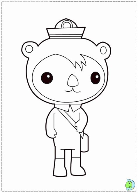 octonauts coloring pages  print coloring home