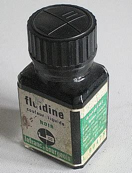 bureau r馮lable ink bottles inktpotten