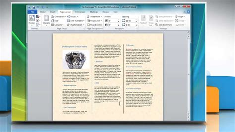 how to make a trifold pamphlet in word how to make a tri fold brochure in microsoft word 2007