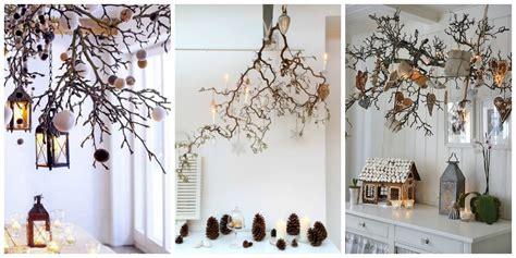 Escabeau Branche Bois Décorative Et Decoration Branche Bois Noel Décoration De Noël Déco écolo