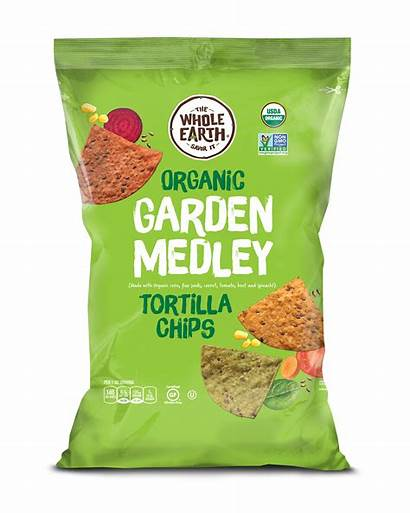 Chips Garden Medley Tortilla Organic Earth Whole