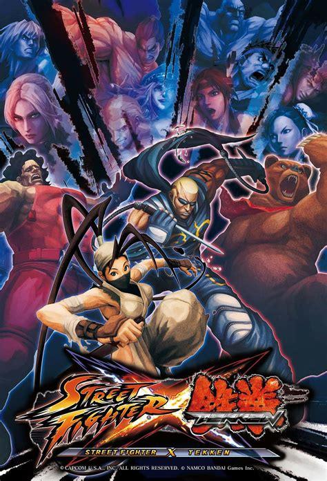 Street Fighter X Tekken New Posters Tekken Headquarter