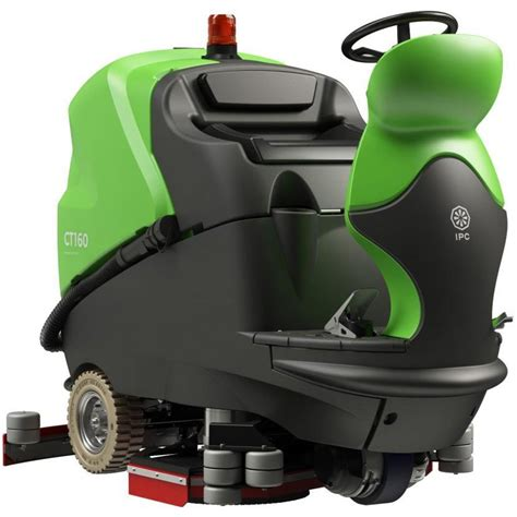 """28"""" IPC Eagle CT160 Automatic Ride On Floor Scrubber - 39"""