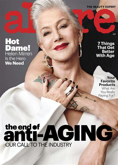 Helen Mirren Looks Divinely Cool on Allure - Go Fug Yourself