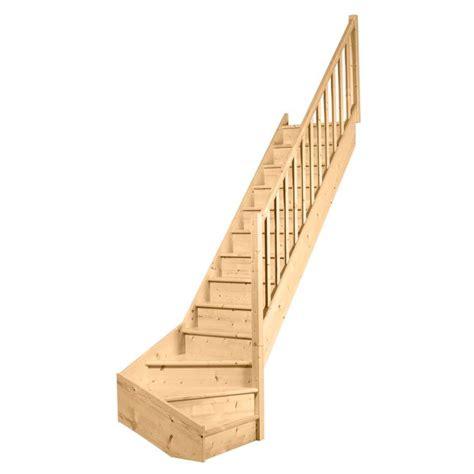 escalier 1 qt primo sapin massif re fuseaux droits