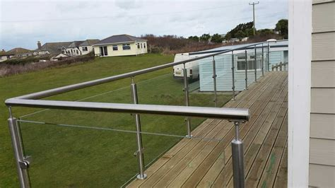 Stainless Steel Glass Balustrade.Handrail / balcony