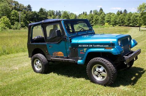 jeep islander 1992 jeep wrangler islander edition head turner fun
