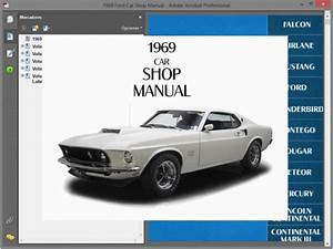 Ford Mustang  1969  - Service Manual