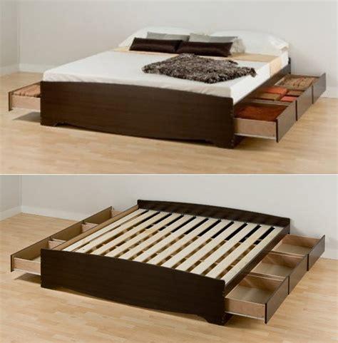 plans  build woodworking plans king size captains bed