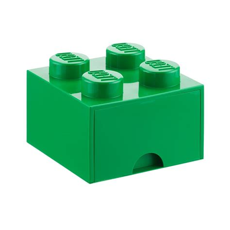 Green Large Lego Storage Drawer   The Container Store