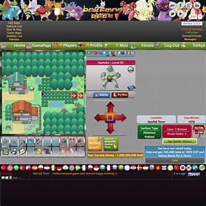 play pokemon game pokemoncraft online