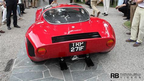 Alfa Romeo 33 Stradale For Sale by Alfa Romeo Tipo 33 Stradale Sound Villa D Este 2011