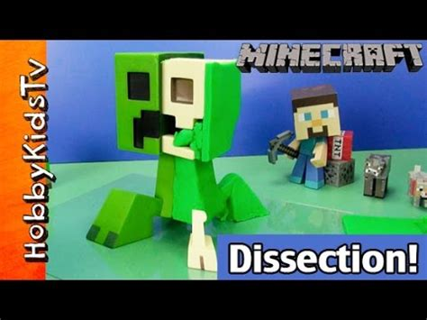 play doh dissection minecraft creeper anatomy deluxe vinyl