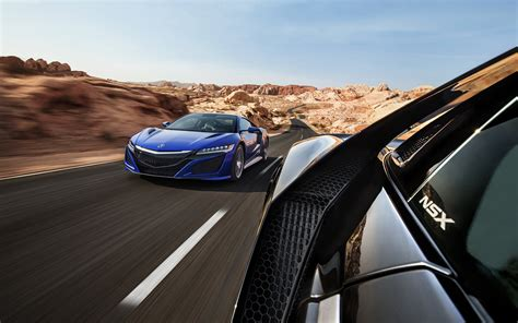 Acura NSX, Car, Vehicle, Road, Motion Blur Wallpapers HD ...