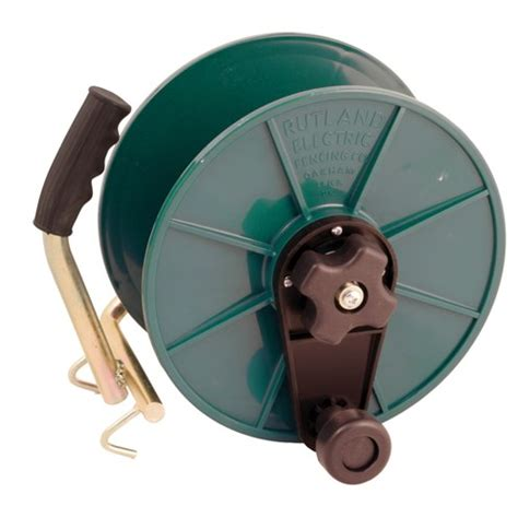 rutland self insulated mounting electric fence reel electric fencing topline ie