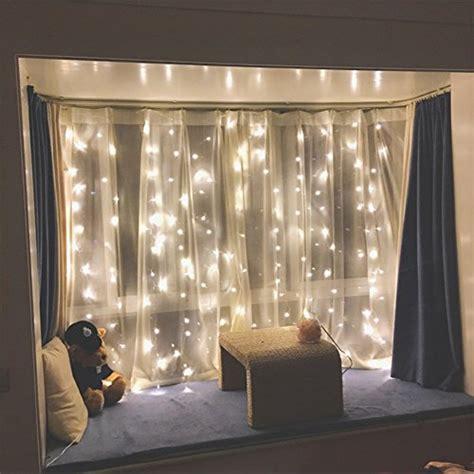 twinkle star  led window curtain string light