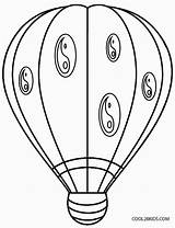 Balloon Coloring Air Printable Colouring Basket Cool2bkids Drawing Sheets Adults Template Getdrawings sketch template