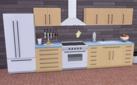 Vanadium Kitchen at Veranka » Sims 4 Updates