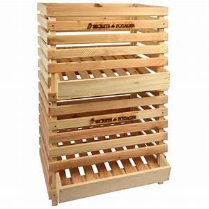 Caisse De Pomme : caisse pommes de terre en bois ~ Teatrodelosmanantiales.com Idées de Décoration