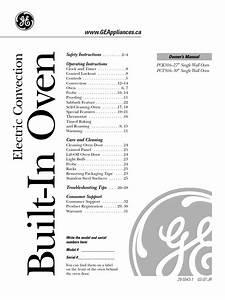 Ge Profile Oven Manual